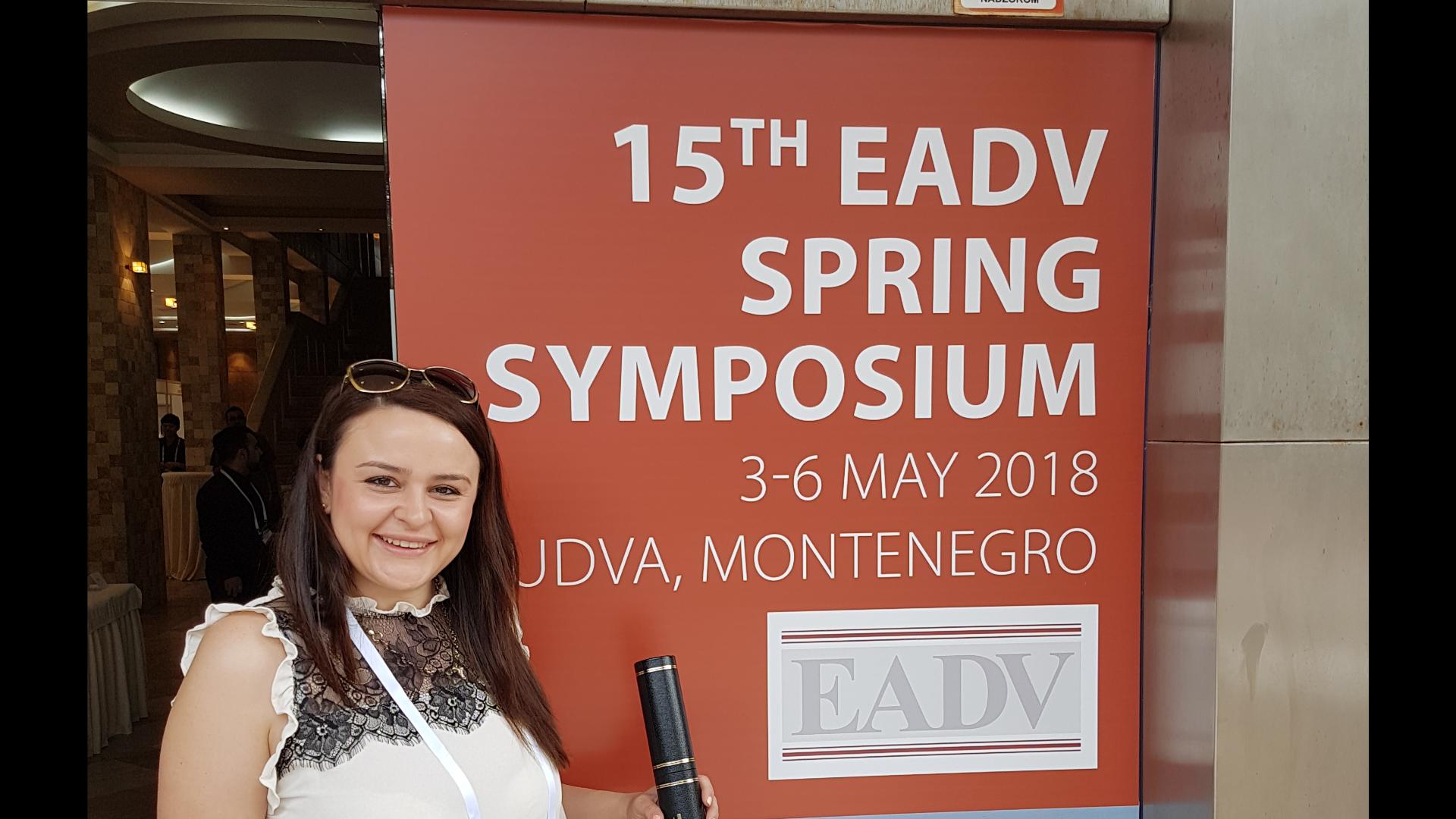 15th EADV Spring Symposium в Будва, Монтенегро
